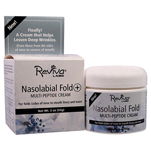Reviva Labs, Nasolabial Fold+ Multi-Peptide Cream, 2 oz (55 g) - 3PC