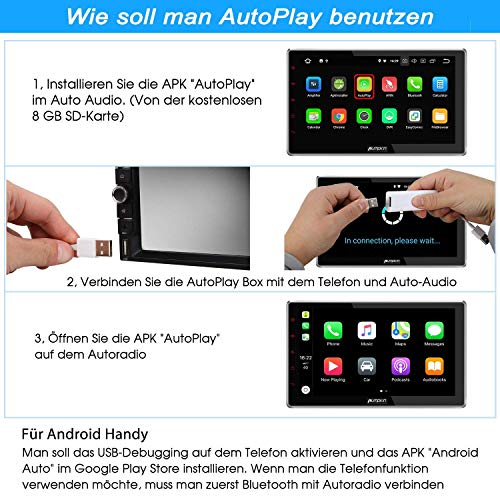 Pumpkin SA052 USB Android Auto Autoplay Dongle für Android