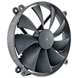 Noctua NF-P14r redux-1500 PWM, 4-Pin, High Performance Cooling Fan with 1500RPM (140mm, round, Grey)