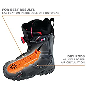 DryGuy Travel Dry DX Boot Dryer and Shoe Dryer
