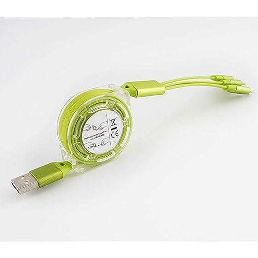 AIJIE El Cable Multi del Cargador, Salida Actual 2.1a es ...