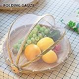 Hankyky Hand-Woven Food Serving Basket Dustproof