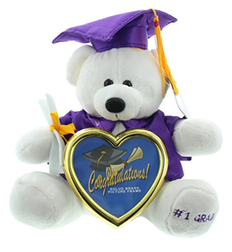 Price comparison product image Graduation Photo Frame Teddy Bear