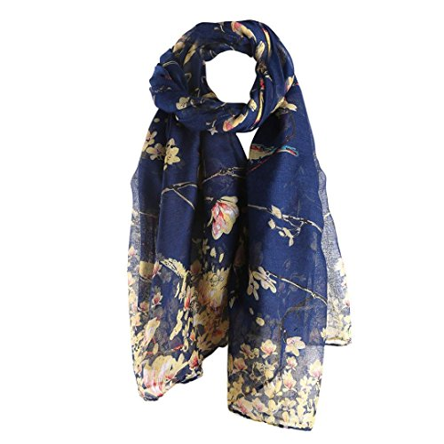 Wrap,lookatool fashion Women Printed Long Scarf Warm Wrap (439 Sheer)