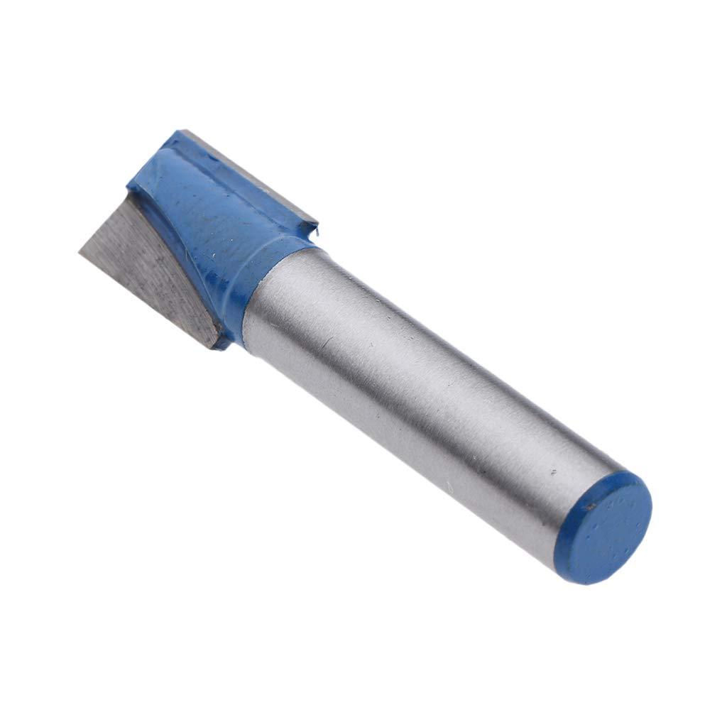 Homyl Nutfr/äser Schaft 8 mm Nutenfr/äser Holzfr/äser Fr/äser Nuter 8x20mm /Ø 10 mm 32 mm
