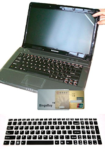 US Layout Keyboard Skin Cover + 15.6'' anti glare & for sale  Delivered anywhere in USA