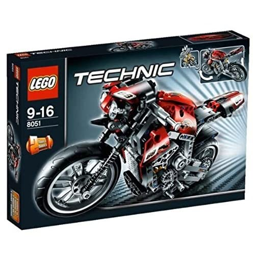 Lego 8051 - Jeu de construction Technic - La moto