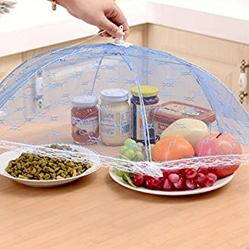 Lace Food Cover Umbrella Style Anti Fly Mosquito Meal Hexagon Gauze Table Tools