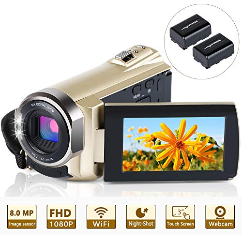 Video Camera Camcorder WiFi