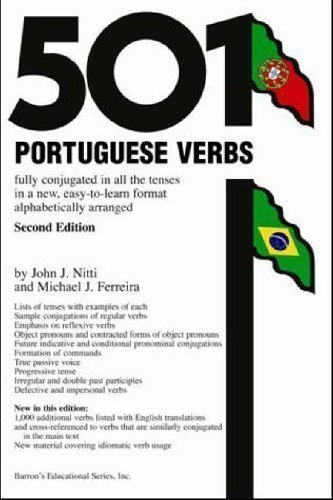 - 501 Portuguese Verbs (Barron's 501 Portuguese Verbs) by unknown 2nd Revised edition (2005)