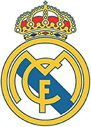 Real Madrid CF Official Soccer Car Air Freshener (One Size) (White/Gold/Blue)