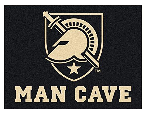 Military Rugs Starter Fanmats (NCAA U.S. Military Academy Team Logo Man Cave All-Star Mat - 33.75