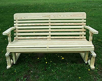 5 Foot Pressure Treated Pine Designs Classic Glider Amish Made in the USA
