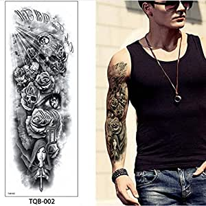 Handaxian 3pcs Angel War Demon Tatuaje anti-3pcs-1: Amazon.es: Hogar