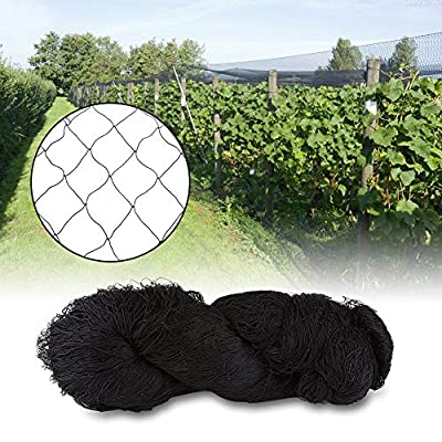 Bird Nets, 25' 50' Heavy Duty Nylon Anti Bird Protecting Mesh Netting for Gardening Farms Vineyard Agricultural Planting