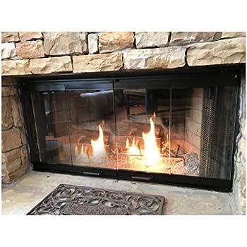 Amazon 42 Fireplace Glass Door Set To Fit Heatilator Unit