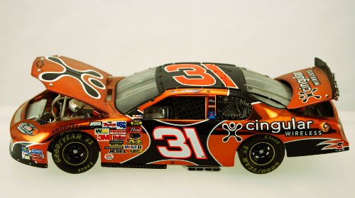 (Action - Elite - NASCAR - Robby Gordon #31 - 2004 Chevy Monte Carlo - Cingular Wireless - 1:24 Scale Die Cast - Rare Color Chrome Paint - #238 of 288 - Limited Edition - Collectible)