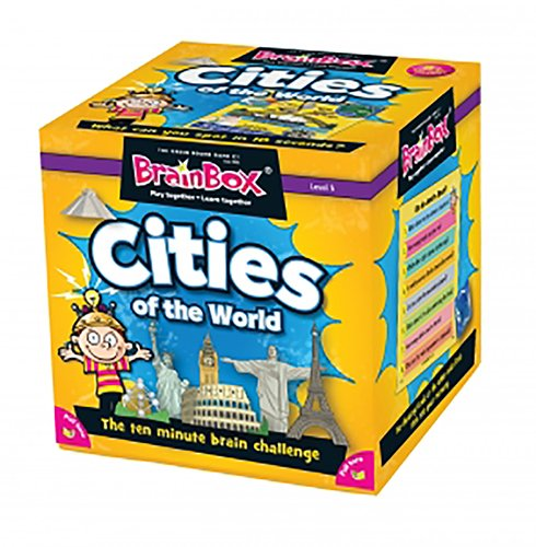 BrainBox Cities of the World Board Game