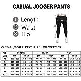 PIDOGYM Men's Slim Jogger Pants,Tapered Sweatpants