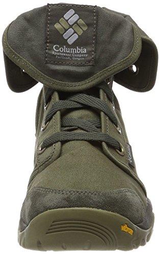 Columbia Camden, Scarpe da Arrampicata Alta Uomo Verde (Nori, Rose Columbia Grey 383)