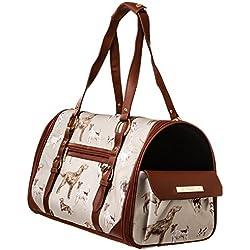 Laura Ashley Pet Dog Cat Travel Carrier Bag