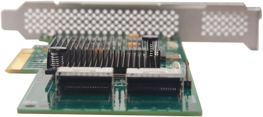 Broadcoms SAS 3008 12G External PCI-E SAS//SATA HBA Raid Controller Card Compatible for SAS 9300-8E