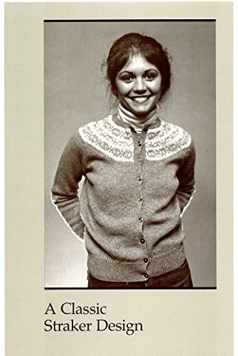 A Classic Straker Design Knitting Pattern #777C - MacAuslan Cardigan - Sport Weight Knitting Patterns