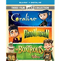 Boxtrolls / Paranorman / Coraline Triple Feature (Blu-ray)
