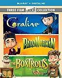 DVD : Three Film Laika Collection (Coraline / ParaNorman / The Boxtrolls) [Blu-ray]