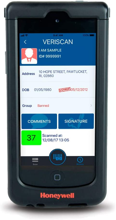 IDWare SL22 Mobile ID Scanner