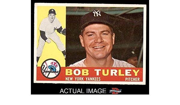 1960 Topps #270 Bob Turley New York Yankees Baseball Card Verzamelingen
