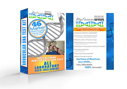 AVUNCULAR  at-Home Paternity Test Kit *Most Advanced & Accur