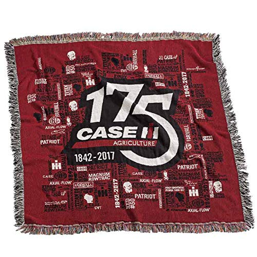Case IH 175th Anniversary Tapestry Throw