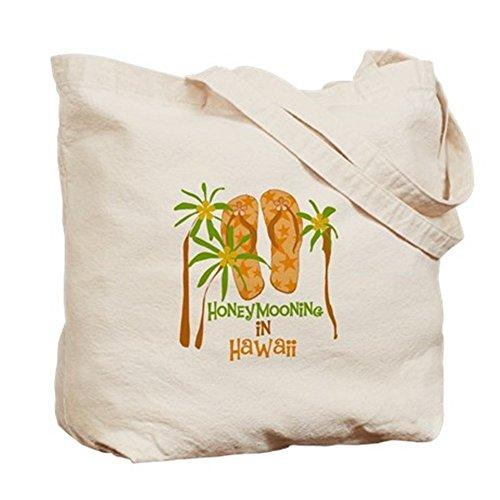 CafePress–Luna Hawaii–Borsa di tela naturale, panno borsa per la spesa