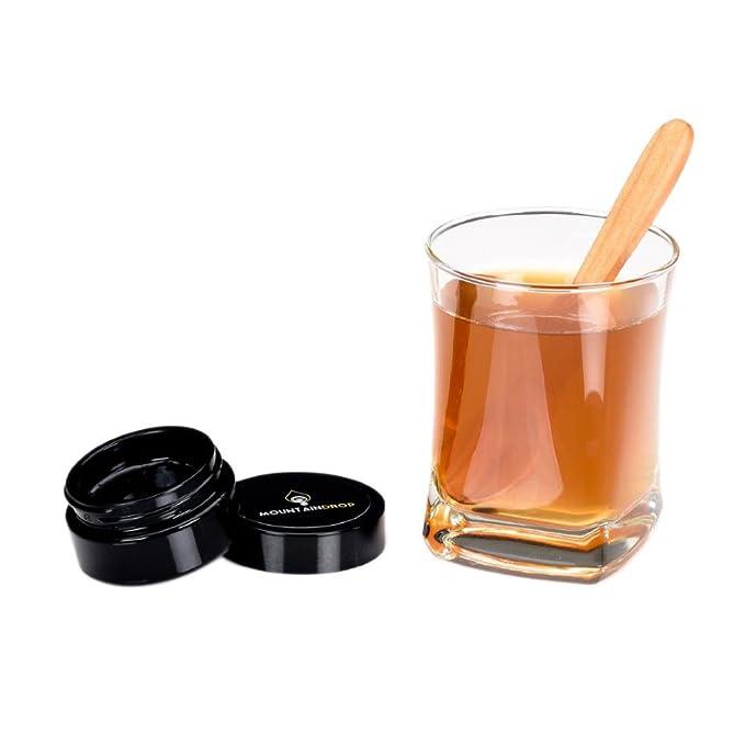 SHILAJIT de alta calidad, 25 g (suministro de 2 meses), resina Shilajit natural y pura, suplemento orgánico ayurveda para el bienestar y el yoga (Mumio, ...
