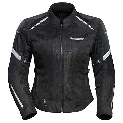 - Tourmaster Intake Air 5.0 Womens Summer Mesh Jacket Black/Medium (More Size and Color Options)