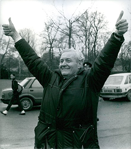Vintage photo of Anthony Wedgwood Benn, who returns to Parliament after winning the Chesterfield - Wedgwood Vintage