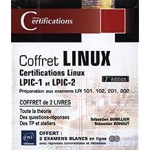 Coffret Linux Certifications Linux LPIC-1 et LPIC-2 2e édi