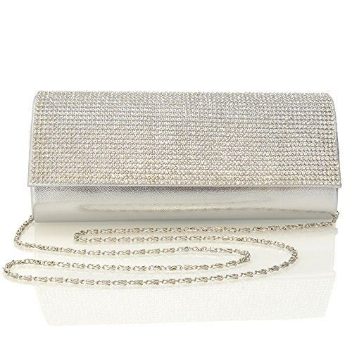 Glam Metallic Clutch - 8