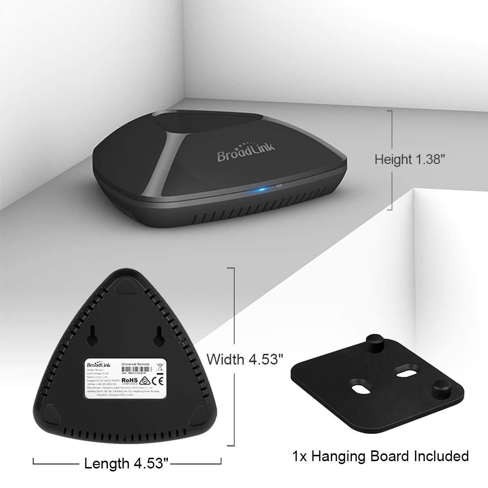 BroadLink RM Pro WiFi Smart Home Hub, IR RF All in One