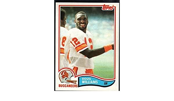 the latest 8b6fb f6912 Amazon.com: Football NFL 1982 Topps #508 Doug Williams ...