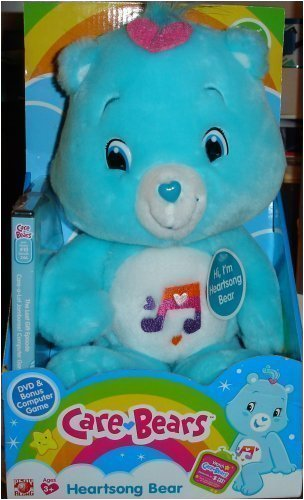 Care Bears Heartsong Bear with Bonus DVD #10