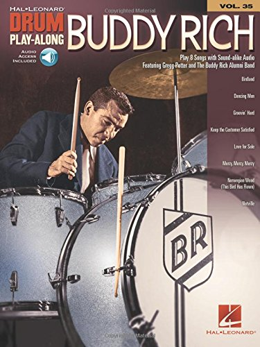- Buddy Rich (Hal-Leonard Drum Play-Along)