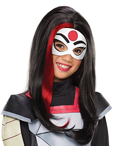Rubie's Costume Girls DC Super Hero Katana Wig