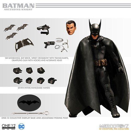 Mezco Toys One:12 Collective: DC Ascending Knight Batman Action Figure ()