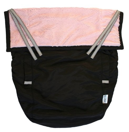 Rain or Shine Kids RoSK Pouch Carrier Cover, Pink/Black, Baby & Kids Zone