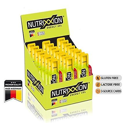 Nutrixxion GEL ENERGÍA Endurance con BCAA & vitaminas 24 x 44g, Banana