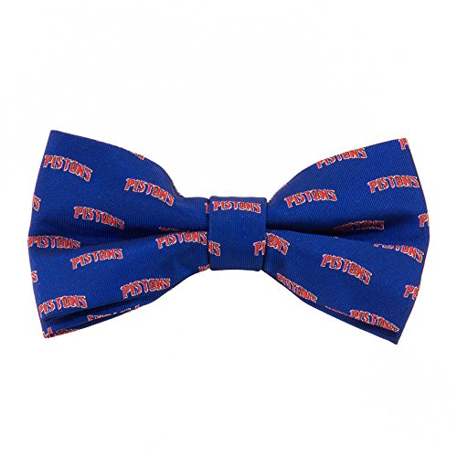 Eagles Wings EAG-9980 Detroit Pistons Repeat NBA Bow Tie by Eagles Wings