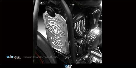 dimotiv DMV especial Radiador Cubierta Protectora para Kawasaki VN900 Classic 2006 – 15/VN900 Custom