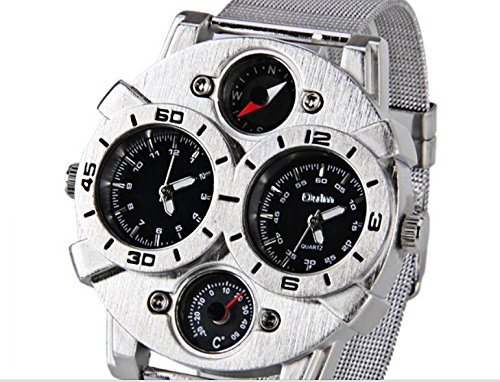 Oul men strip temperature test Chinese military form special mountaineering outdoor multifunction watches with compass